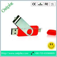 Metal rotating OTG phone USB Flash Driver