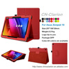 New Design Ultra-thin PU Leather Case For ASUS ZenPad 10 Z300C Case, Smart Covers Case for ASUS ZenPad 10 (Z300C) case, Red