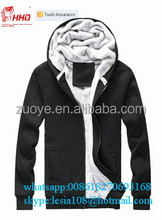 New Design Hot Style New Stylish Outer Wear mens thick zipper hoodie