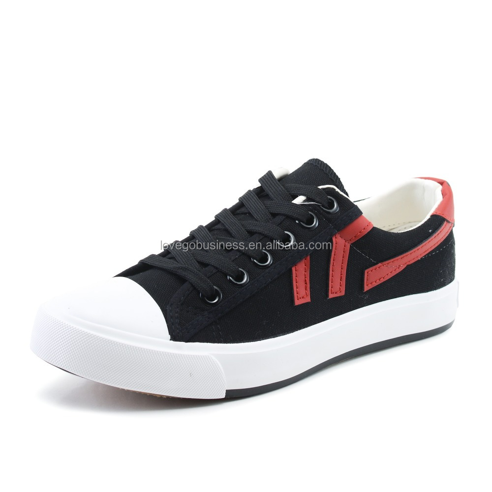 new style wholesale canvas shoes walk sneaker rubber sohes