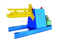 5T Automatic Hydraulic steel sheet coil Decoiler for roll forming machine for sale in China