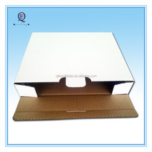 cheap strong white carton packing box /corrugated paper carton box with logo