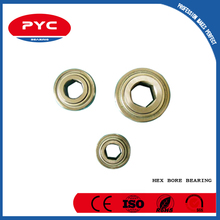 PYC Free Sample!!!Best Price Special Type Mini Hex Bore Bearing From ShangHai Bearing Manufacturer