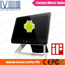 Eco Plus A9 15 inch Touch Screen Android Pos Terminal, Support WIFI and Bluetooth and Barcode Scanner