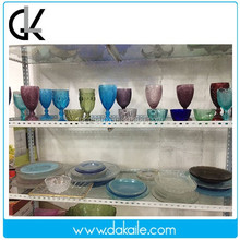 Clear glass saucer, glass plate, glassware, Tableware