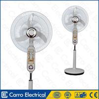 Afghanistan and Pakistan market 12volt 16inch 35w dc solar power battery emergency LED fan rechargeable battery operated fan wit