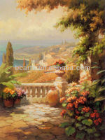 100% handmade high quality Classic Landscape Oil painting