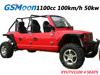 1100cc 4SEATS buggy with Chery Brand, EFI 4X4 Engine