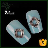 2015 Hotest china wholesale 3D diamond/rhinestone nail sticker nail design, christmas nail art