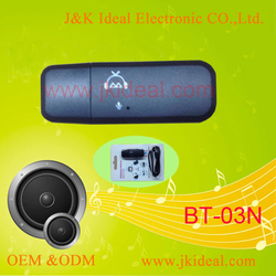 BT-03N usb bluetooth music adapter /receiver dongle with mic