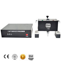 car vin code number marking machine professional for card VIN code