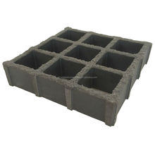 25 thickness embedded square molded FRP grating