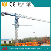 Stable Performance PT6518 10t Building Flat Top Tower Crane on sale
