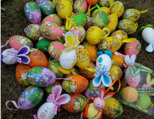 decorative and charming plastic easter eggs for toy packing