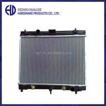 High performance aluminum auto radiator pa66-gf30