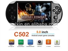 5 inch android game console with wify