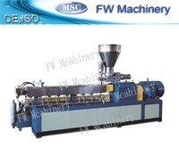 twin screw small extruder pvc pipe extruder hdpe pe extruder