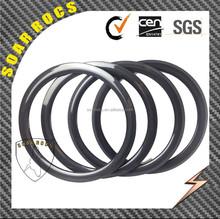 SoarRocs full carbon fiber T800 Mini bicycle wheels 38mm clincher 21mm width 3K glossy 20inch BMX wheels