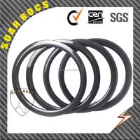 full carbon fiber T800 Mini bicycle wheels 38mm clincher 21mm width 3K glossy 20inch BMX wheels