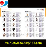 Resin curtain rod finial and bracket factory from china