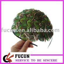 Fashion band/natural peacock feather headband