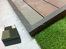 Easy to install/clean WPC solid and hollow formed outdoor waterproof composite deck