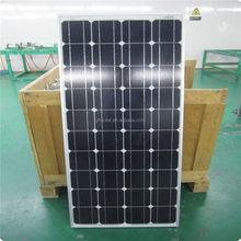 High efficient and high quality solar cell 120 watt mono solar panel