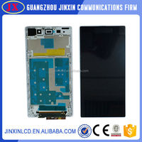 Mobile phone LCD for sony xperia z1L39H lcd panel +touch Brand new Original panel