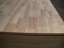 standard size 1200*2400 rubber wood finger joint board for furniture directly