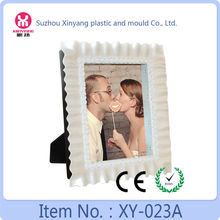 2015 hot selling LED photo picture frame for wedding gifts with rose flower