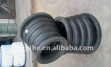 three sphere rubber reduced pipe joint
