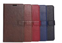 Crown Pouch Leather Smart Case for Blackberry Passport