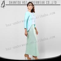 MD A016 2014 design baju kurung muslim women elegant design long sleeve maxi baju kurung peplum modern design baju kurung