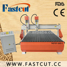 FASTCUT1825 multi-head cnc wood engraving efficiency machine for furniture arts door1800*2500mm working area