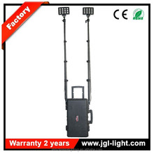 GZ JGLself contained LED lighting towers Quality Tested 72W rechargeable led remote area lighting system RLS-72W, ABS Case Style