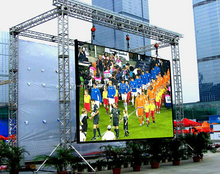 full colour outdoor p8 concert stage led display screen