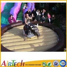 high quality PVC Tarpaulin inflatable mechanical bull game