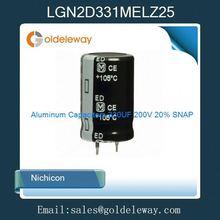 LGN2D331MELZ25 Aluminum Capacitors 330UF 200V 20% SNAP