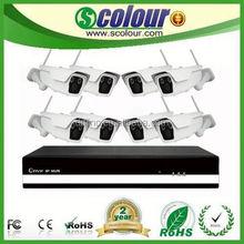 2.0MP Wireless ONVIF P2P Wifi Camera high definitions surveillance camera Network CCTV System NVR Kit