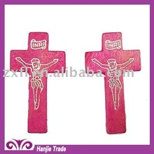 Hot sell Wooden Cross With Jesus for decorating
