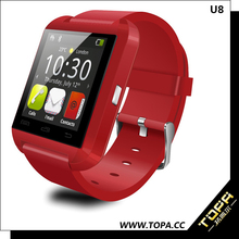 ultra slim smart wrist watch bluetooth bracelet with pedometer mp3 player
