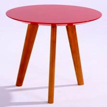 new style fashion red coffee tables