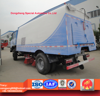 2015 brand new dongfeng 153 sweeper truck,RHD floor sweeper, road sweeping truck