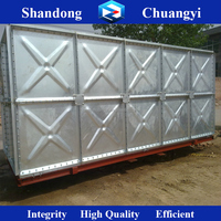 Hot-dipped Galvanized Pressed Steel Water Tank Warranty 3years ISO9001
