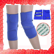 Wholesale high quality tourmaline heat knee sleeve magnetic knee support