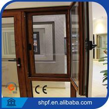 aluminium window good seal / aluminium window with stainless steel window screen