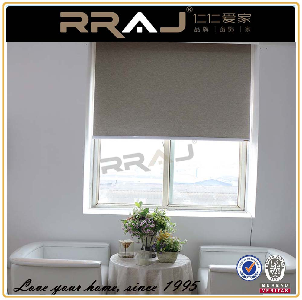 Custom Roller Shades For Windows : Insulated designer roller shades for windows buy