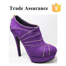 2015 trendy style sexy lady high heel shoes