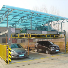 3D high tech semi-automated parking system