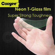 2.5D 0.33mm cell phone screen protector for iphone 6 OEM/ODM, Neon colorful